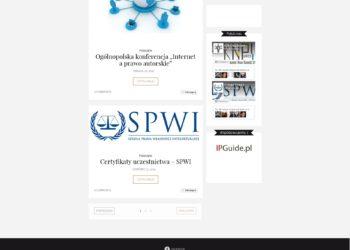 Koło Naukowe Prawa Własności Intelektualnej - strona www